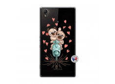 Coque Sony Xperia Z1 Puppies Love