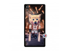 Coque Sony Xperia Z2 Cat Nasa Noir