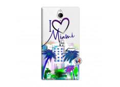 Coque Sony Xperia Z2 I Love Miami