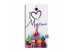Coque Sony Xperia Z2 I Love Moscow
