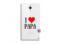 Coque Sony Xperia Z2 I Love Papa