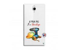 Coque Sony Xperia Z2 Je Peux Pas J Ai Bricolage
