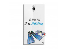 Coque Sony Xperia Z2 Je Peux Pas J Ai Natation
