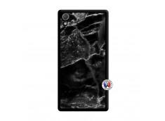 Coque Sony Xperia Z2 Black Marble Noir