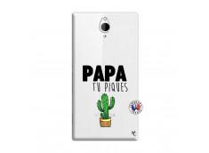 Coque Sony Xperia Z2 Papa Tu Piques