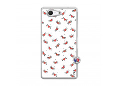 Coque Sony Xperia Z3 Compact Cartoon Heart Translu