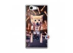 Coque Sony Xperia Z3 Compact Cat Nasa Translu