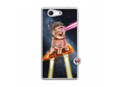 Coque Sony Xperia Z3 Compact Cat Pizza Translu