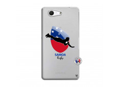 Coque Sony Xperia Z3 Compact Coupe du Monde Rugby-Samoa