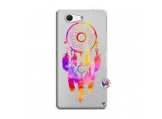 Coque Sony Xperia Z3 Compact Dreamcatcher Rainbow Feathers