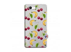 Coque Sony Xperia Z3 Compact Hey Cherry, j'ai la Banane