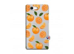 Coque Sony Xperia Z3 Compact Orange Gina
