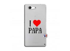 Coque Sony Xperia Z3 Compact I Love Papa