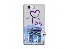 Coque Sony Xperia Z3 Compact I Love Paris Arc Triomphe