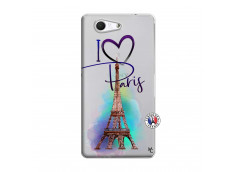 Coque Sony Xperia Z3 Compact I Love Paris