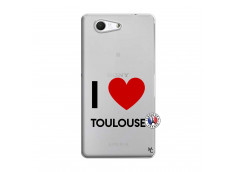 Coque Sony Xperia Z3 Compact I Love Toulouse