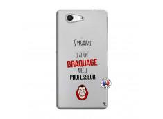 Coque Sony Xperia Z3 Compact J Peux Pas J Ai Un Braquage Avec Le Professeur