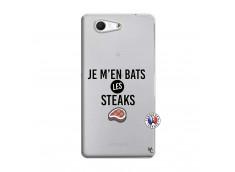 Coque Sony Xperia Z3 Compact Je M En Bas Les Steaks