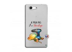 Coque Sony Xperia Z3 Compact Je Peux Pas J Ai Bricolage
