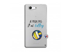 Coque Sony Xperia Z3 Compact Je Peux Pas J Ai Volley