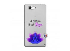 Coque Sony Xperia Z3 Compact Je Peux Pas J Ai Yoga