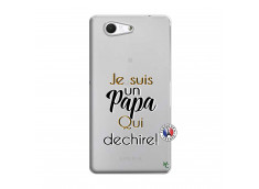 Coque Sony Xperia Z3 Compact Je Suis Un Papa Qui Dechire