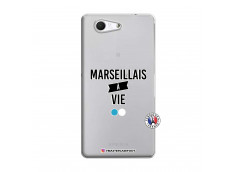 Coque Sony Xperia Z3 Compact Marseillais à Vie