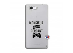 Coque Sony Xperia Z3 Compact Monsieur Mauvais Perdant