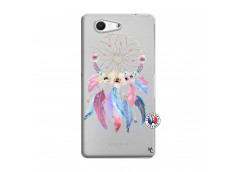 Coque Sony Xperia Z3 Compact Multicolor Watercolor Floral Dreamcatcher