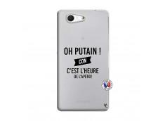 Coque Sony Xperia Z3 Compact Oh Putain C Est L Heure De L Apero
