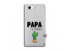 Coque Sony Xperia Z3 Compact Papa Tu Piques