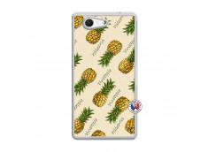 Coque Sony Xperia Z3 Compact Sorbet Ananas Translu