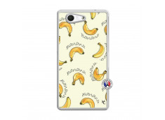 Coque Sony Xperia Z3 Compact Sorbet Banana Split Translu