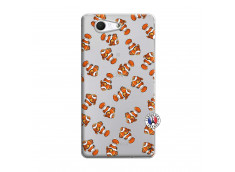 Coque Sony Xperia Z3 Compact Petits Poissons Clown