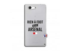 Coque Sony Xperia Z3 Compact Rien A Foot Allez Arsenal