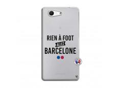 Coque Sony Xperia Z3 Compact Rien A Foot Allez Barcelone