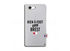 Coque Sony Xperia Z3 Compact Rien A Foot Allez Brest