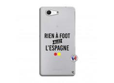 Coque Sony Xperia Z3 Compact Rien A Foot Allez L'Espagne
