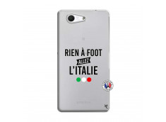 Coque Sony Xperia Z3 Compact Rien A Foot Allez L'Italie