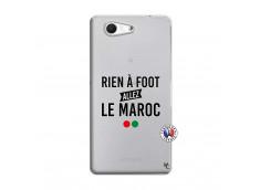 Coque Sony Xperia Z3 Compact Rien A Foot Allez Le Maroc