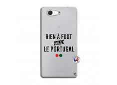 Coque Sony Xperia Z3 Compact Rien A Foot Allez Le Portugal