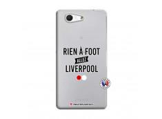 Coque Sony Xperia Z3 Compact Rien A Foot Allez Liverpool