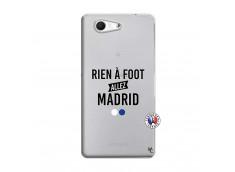 Coque Sony Xperia Z3 Compact Rien A Foot Allez Madrid