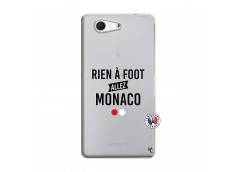 Coque Sony Xperia Z3 Compact Rien A Foot Allez Monaco