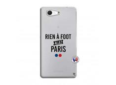 Coque Sony Xperia Z3 Compact Rien A Foot Allez Paris