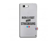 Coque Sony Xperia Z3 Compact Rien A Foot Allez Strasbourg