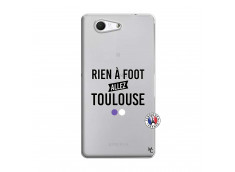 Coque Sony Xperia Z3 Compact Rien A Foot Allez Toulouse