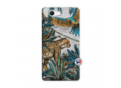 Coque Sony Xperia Z3 Compact Leopard Jungle