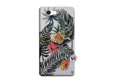 Coque Sony Xperia Z3 Compact Leopard Tree