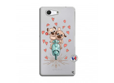 Coque Sony Xperia Z3 Compact Puppies Love